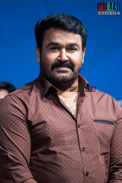 Mohanlal At YG Mahendra's 100th Show Of '3 Ji' Stage Play