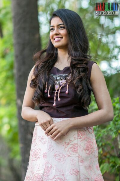 Amritha Aiyer At The Kaali Press Meet