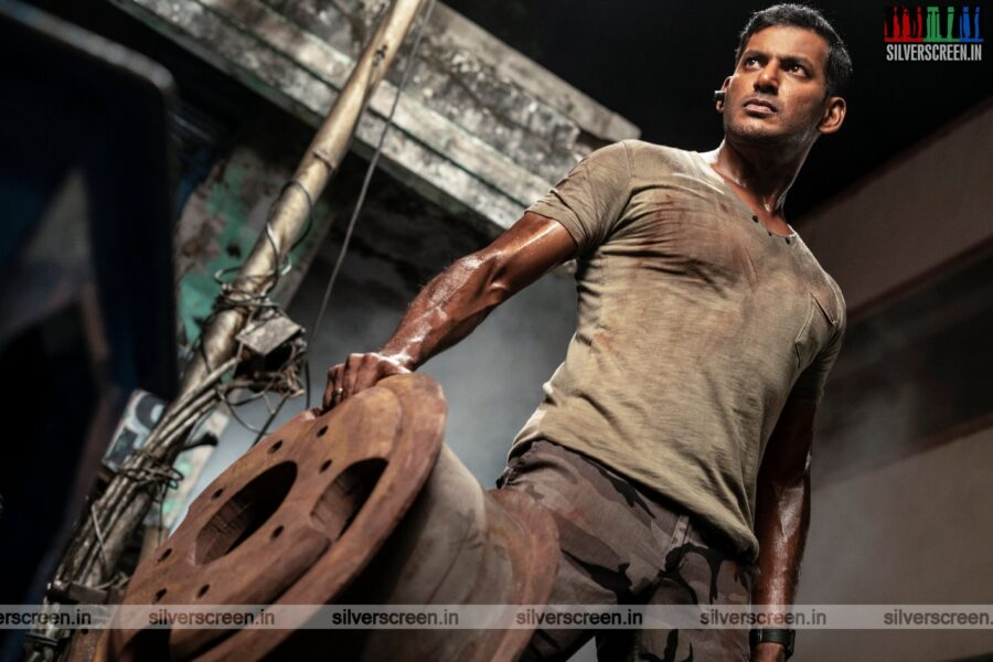 Chakra Movie Stills Starring Vishal