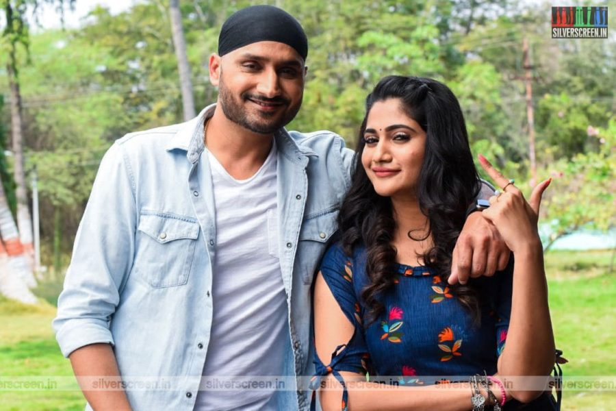 Friendship Movie Stills Starring Harbajan Singh And Losliya Mariyanesan
