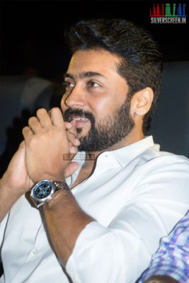 Suriya At The Mr. Chandramouli Audio Launch