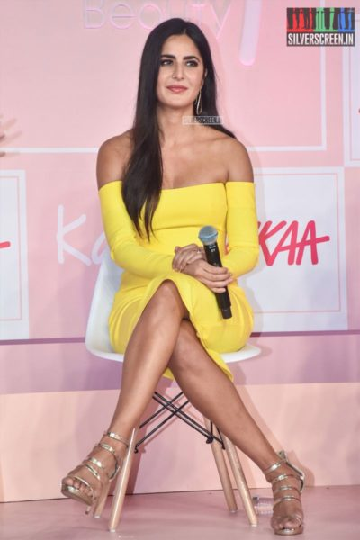 Katrina Kaif At The Nykaa's 'Kay By Katrina' Brand Launch