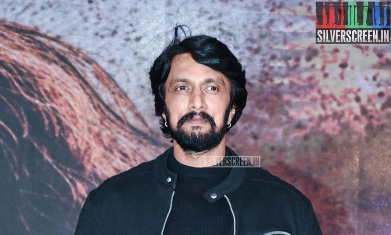 Sudeep At The 'Sye Raa Narasimha Reddy' Teaser Launch