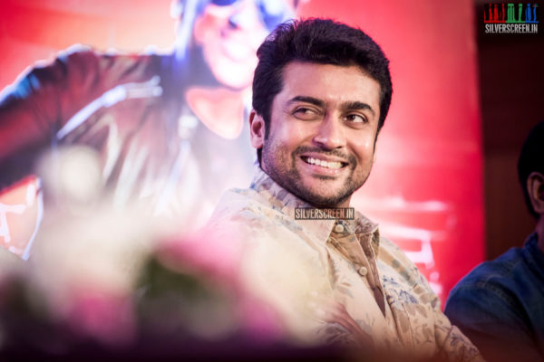 Suriya HQ Photos from Masss Press Meet