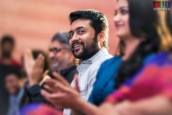 Suriya At The Thaanaa Serndha Koottam Press Meet