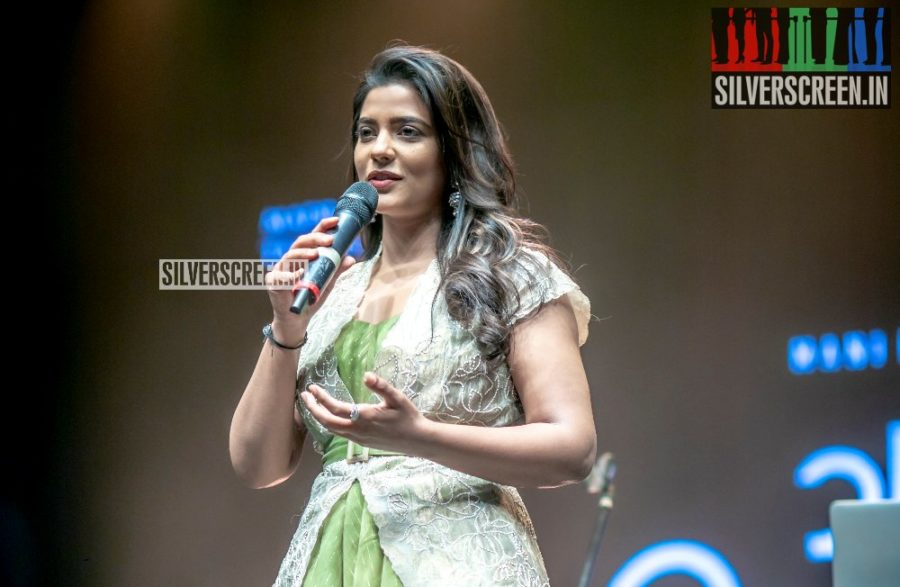 Aishwarya Rajesh At The 'Vaanam Kottatum' Audio Launch