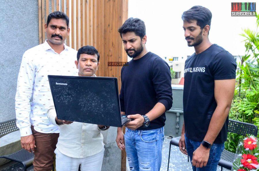 Nani At The Launch Of 'Veyi Subhamulu Kalugu Neeku' Motion Poster