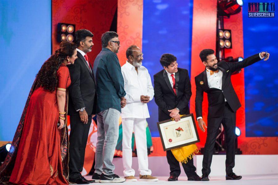 J Mahendran and PC Sreeram At The Pride Of Tamilnadu 2018 Event