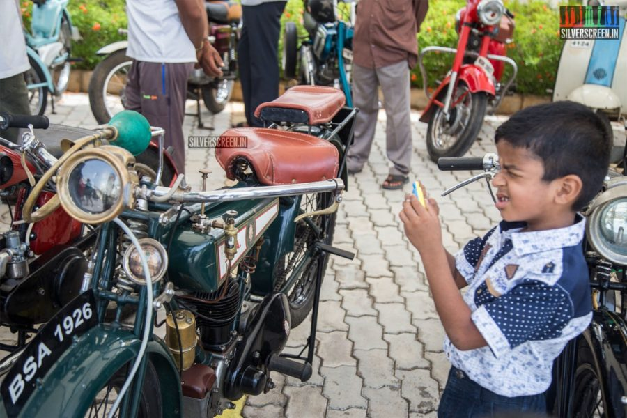 Vintage Car Rally In Chennai