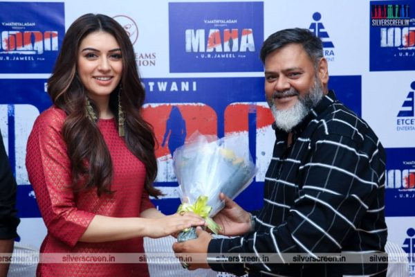 Hansika Motwani Promotes 'Maha'