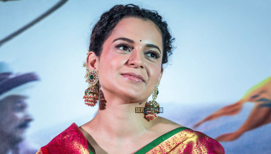 Kangana Ranaut At The Manikarnika – The Queen Of Jhansi Tamil Trailer Launch