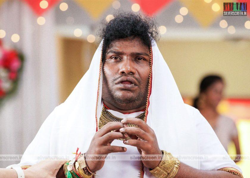 Pei Mama Movie Stills Starring Yogi Babu