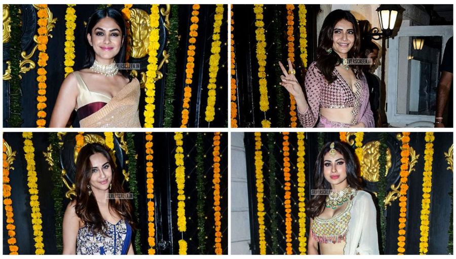 Celebrities At Ekta Kapoor's Diwali Party