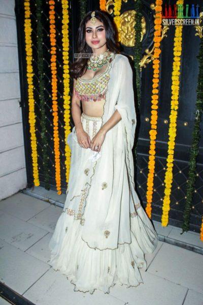 Mouni Roy  At Ekta Kapoor's Diwali Party