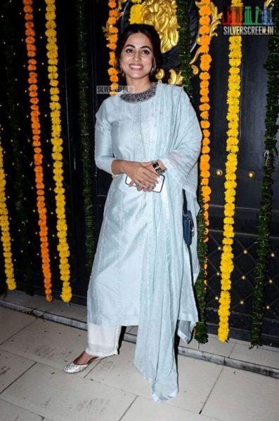 Hina Khan At Ekta Kapoor's Diwali Party