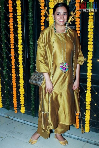 Anita Hassanandani At Ekta Kapoor's Diwali Party