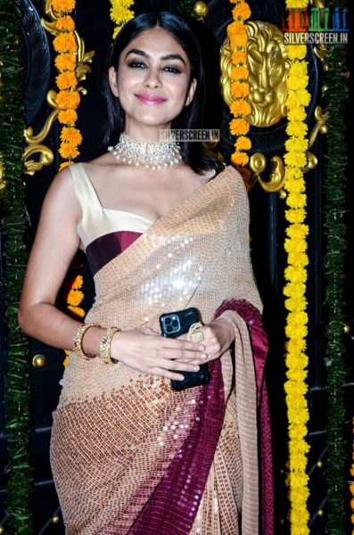 Mrunal Thakur At Ekta Kapoor's Diwali Party