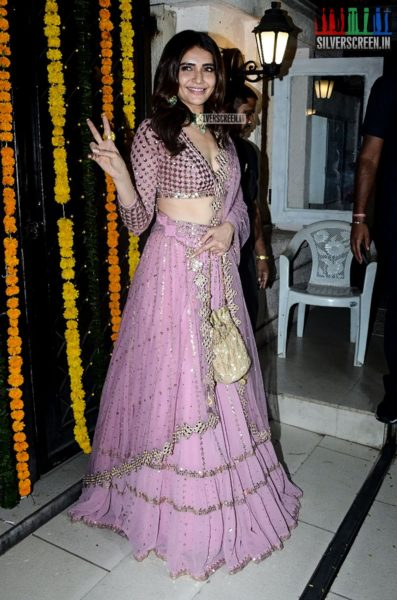 Karishma Tanna At Ekta Kapoor's Diwali Party