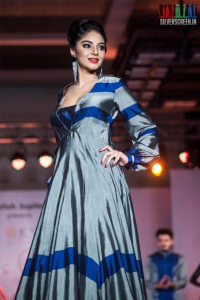 Sanam Shetty At The Madras Couture Fashion Week Season 6-Day 2