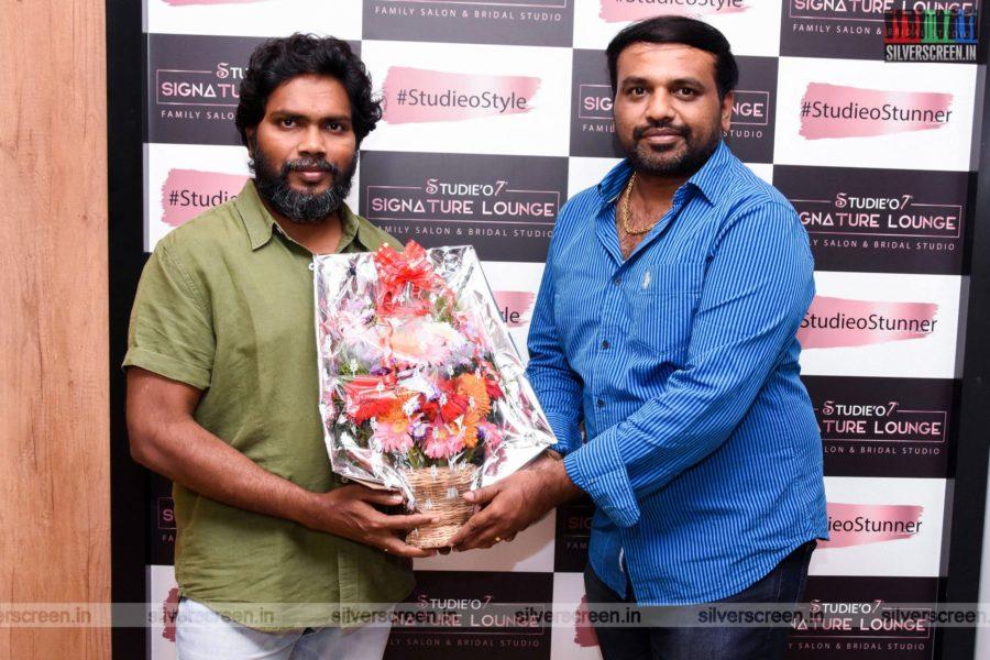 Pa Ranjith At A Salon Launch In Chennai