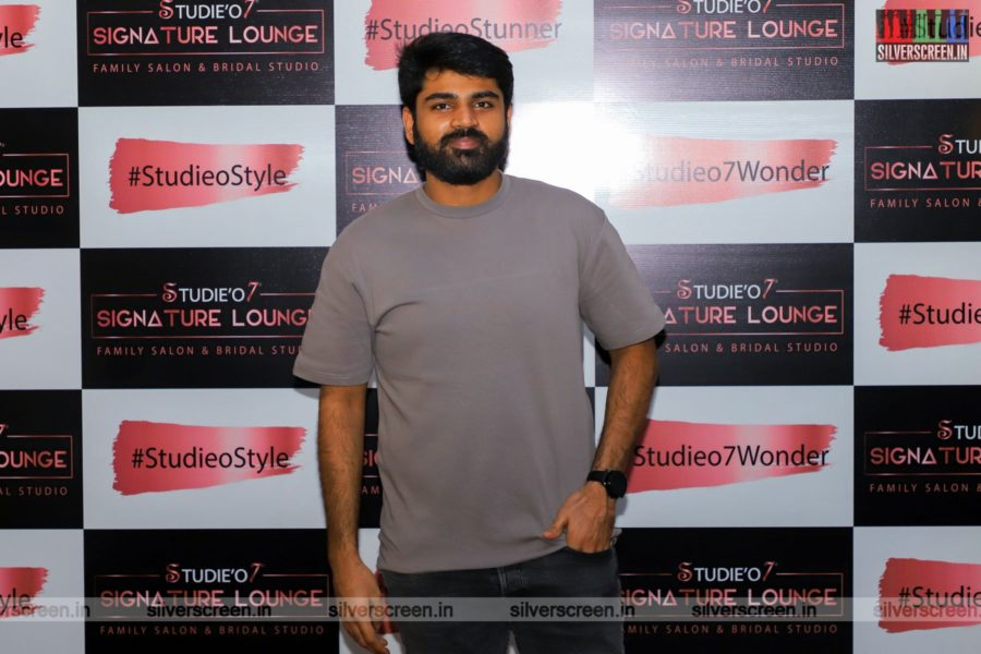 Celebrities At A Salon Launch In Chennai