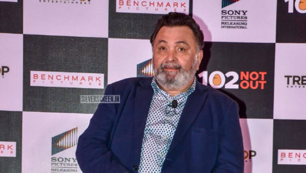 Amitabh Bachchan, Rishi Kapoor At The 102 Not Out Success Meet