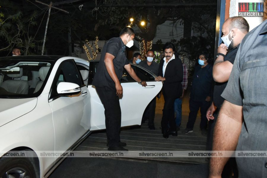 Pawan Kalyan At Dil Raju's 50th Birthday Party