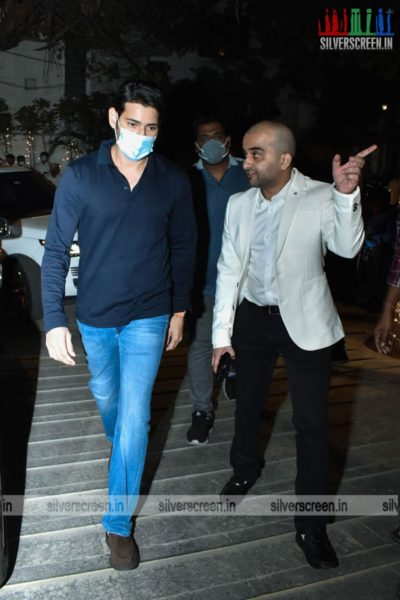 Mahesh Babu At Dil Raju's 50th Birthday Party
