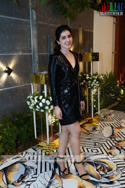 Raashi Khanna At Dil Raju's 50th Birthday Party