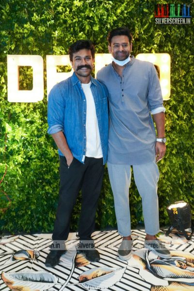 Ram Charan & Prabhas At Dil Raju's 50th Birthday Party