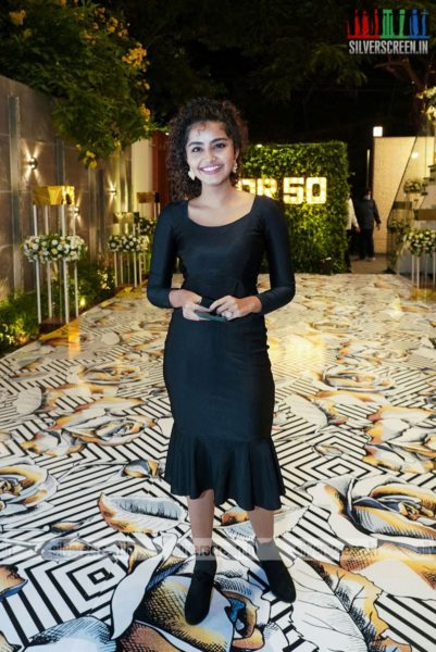 Anupama Parameswaran At Dil Raju's 50th Birthday Party