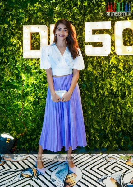 Pooja Hegde At Dil Raju's 50th Birthday Party