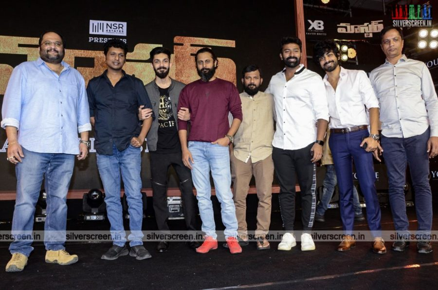 Anirudh, Lokesh Kanagaraj At The Master Audio Launch