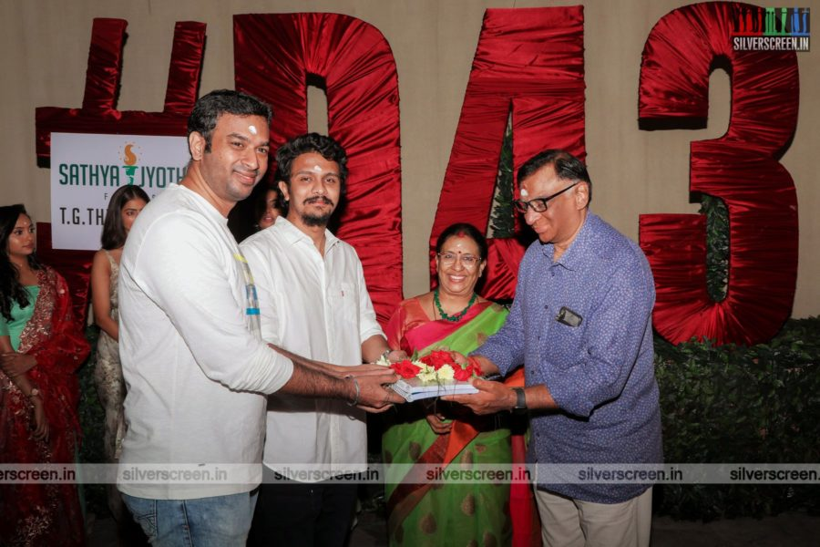 Karthick Naren  At The D 43 Movie Launch