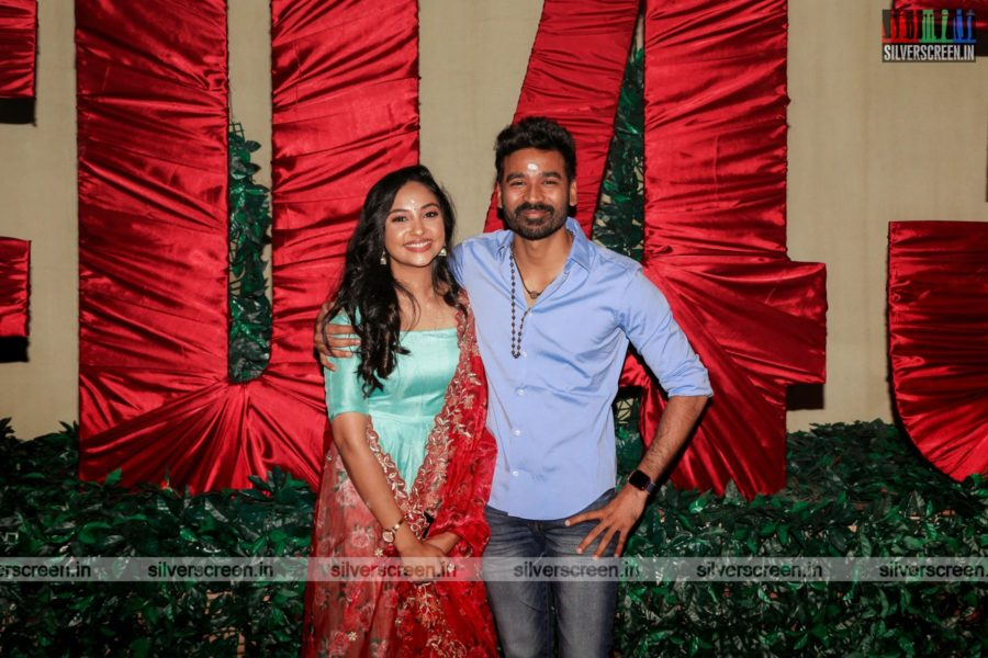 Dhanush, Smruthi Venkat  At The D 43 Movie Launch
