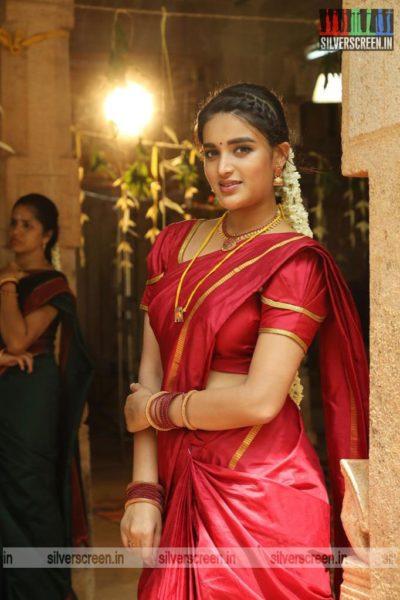 Eeswaran Movie Stills Starring Nidhhi Agerwal