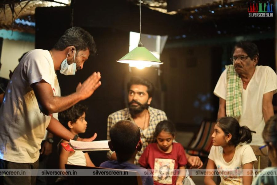 Eeswaran Movie Stills Starring Silambarasan