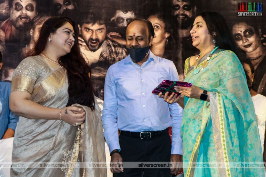 Kushboo, Suhasini Mani Ratnam At The Maayathirai Audio Launch