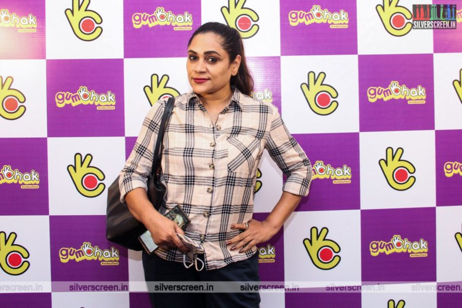 Uma Riyaz At The Gumchak Studio Launch In Chennai