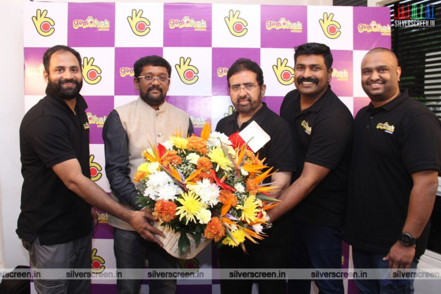 Celebrities At The Gumchak Studio Launch In Chennai
