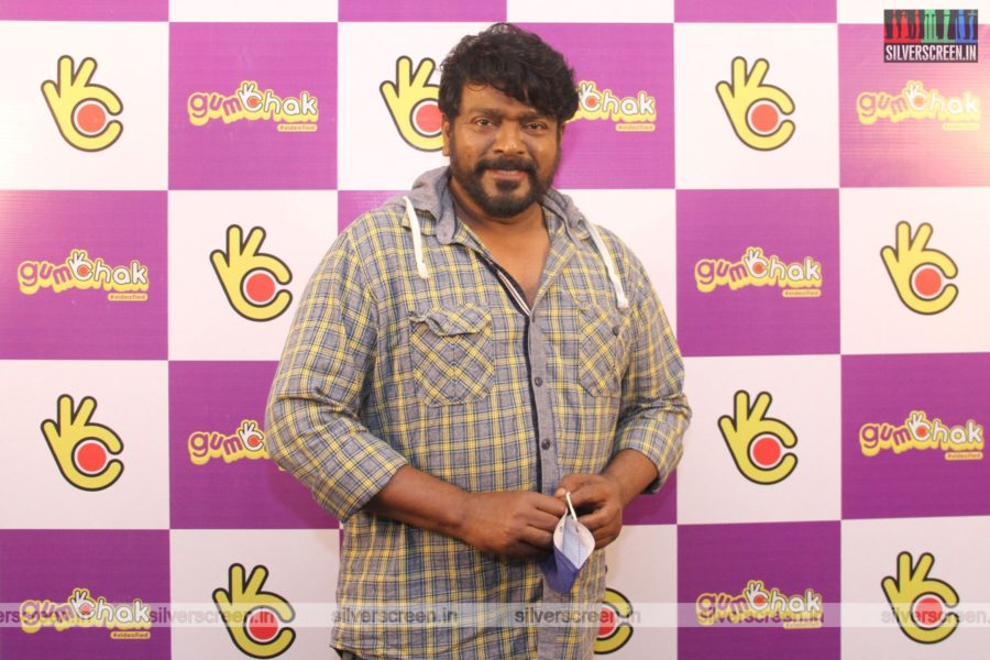 R Parthiban At The Gumchak Studio Launch In Chennai
