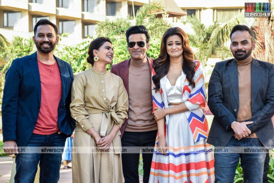 Manoj Bajpayee, Samantha Akkineni And Priya Mani Promote The Family Man 2