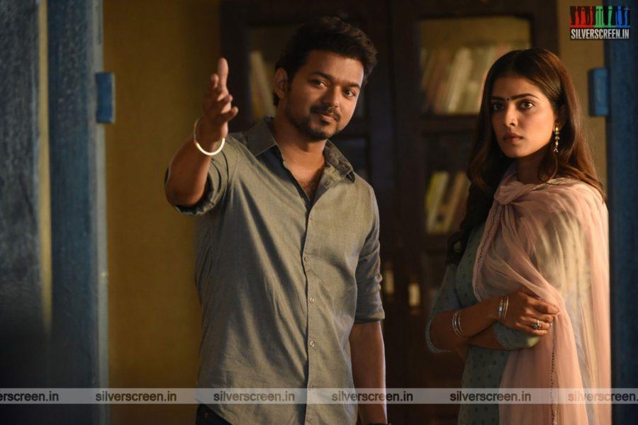Master Movie Stills Starring Vijay, Malavika Mohanan