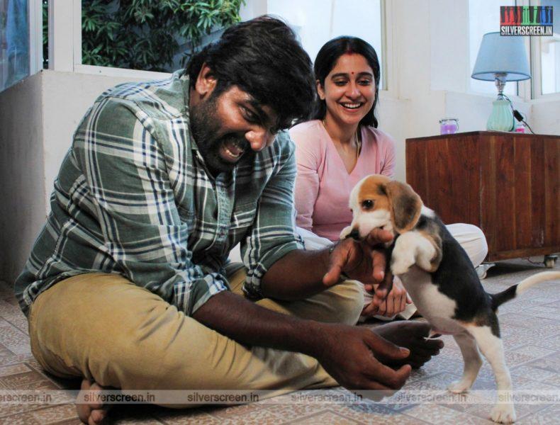 Mugil Movie Stills Starring Vijay Sethupathi, Regina Cassandra