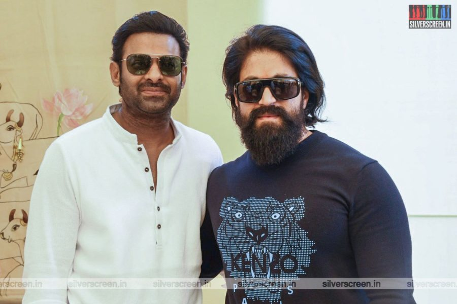 Prabhas, Yash At The Salaar Movie Launch