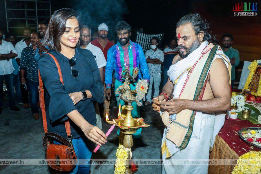 Ramya Nambeesan At A Movie Launch In Chennai
