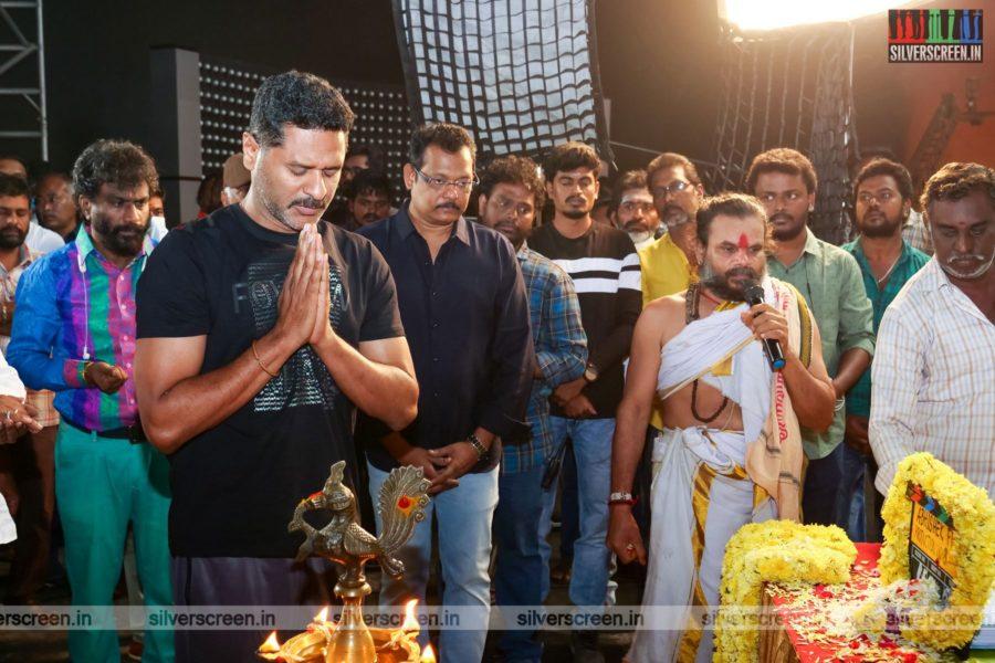 Prabhu Deva At A Movie Launch In Chennai