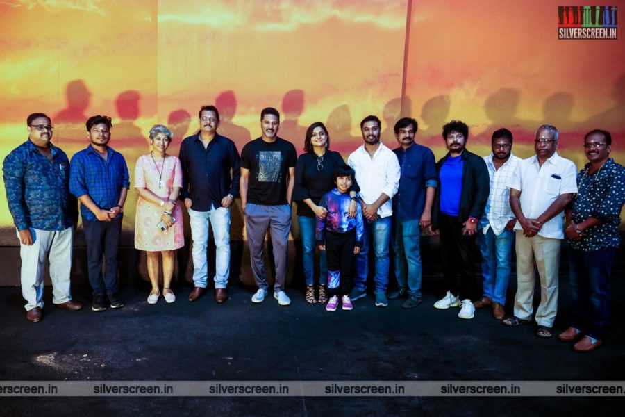 Prabhu Deva, Ramya Nambeesan At A Movie Launch In Chennai
