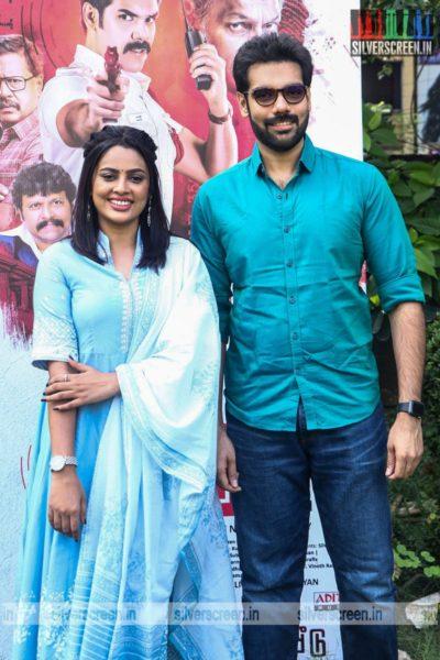 Nandita Swetha & Sibiraj At The Kabadadaari Audio Launch