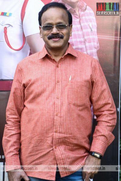 G Dhananjayan At The Kabadadaari Audio Launch